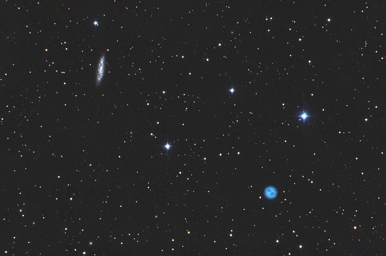 メシエ天体: M108とM97ふくろう...